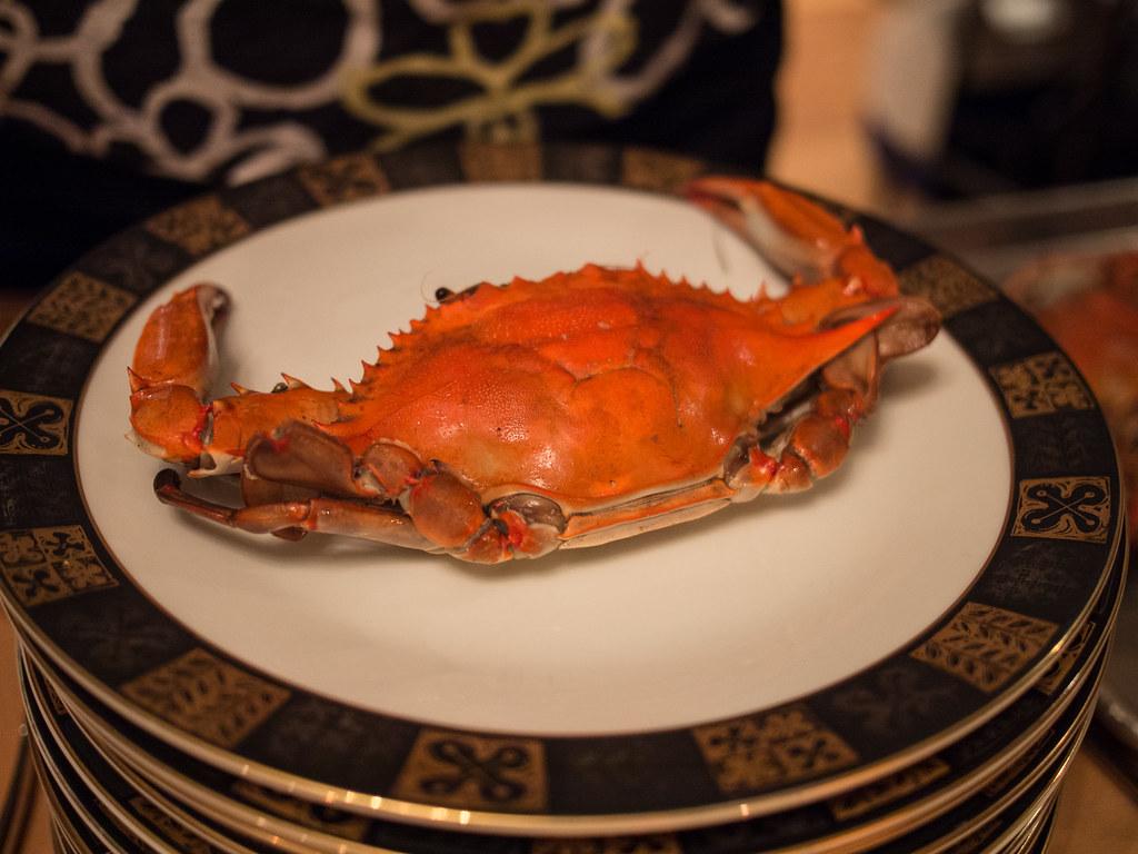 Birthday And Crab Cake