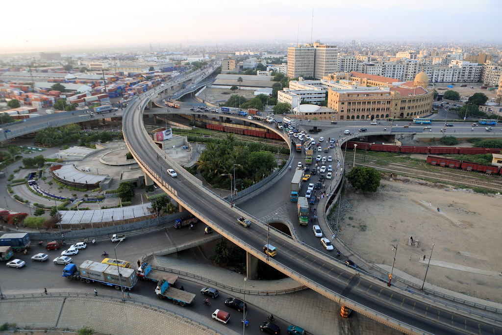 Kpt Bridge Karachi