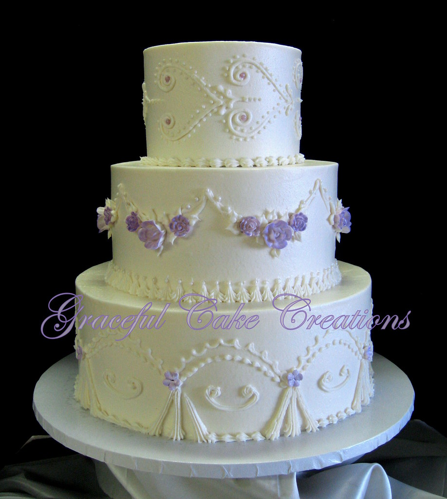 Vintage Wedding Cakes Pictures