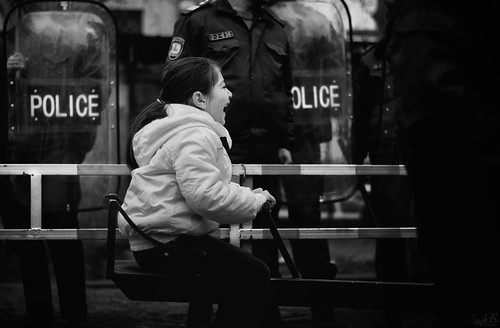 Police face - Human Rights Day Celebration in Armenia | by UNDP in Europe and Central Asia