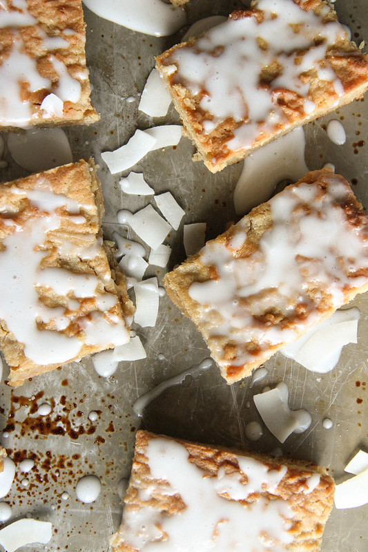 Coffee Coconut Blondies