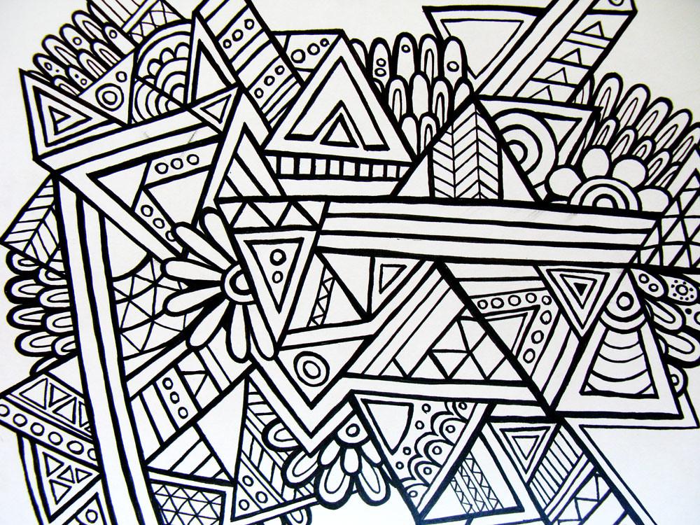 Aztec geometric   Hello Angel Creative   Flickr