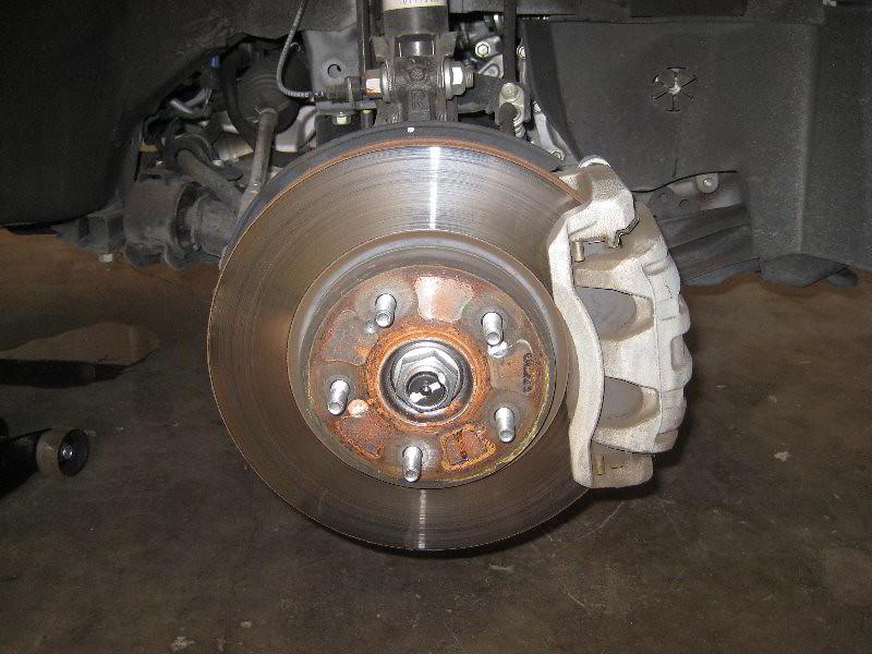 Service Manual  2001 Honda Cr V Front Brake Rotor Removal