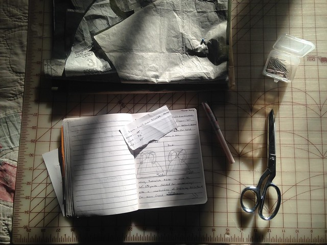 On the Sewing Table // Civil War Clothing Plans & Work