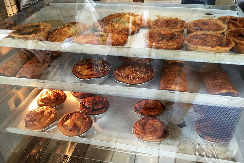Pies and Sausage Rolls, Bourke Street Bakery