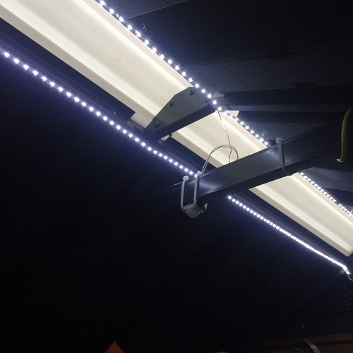 led strips and infrared sensor