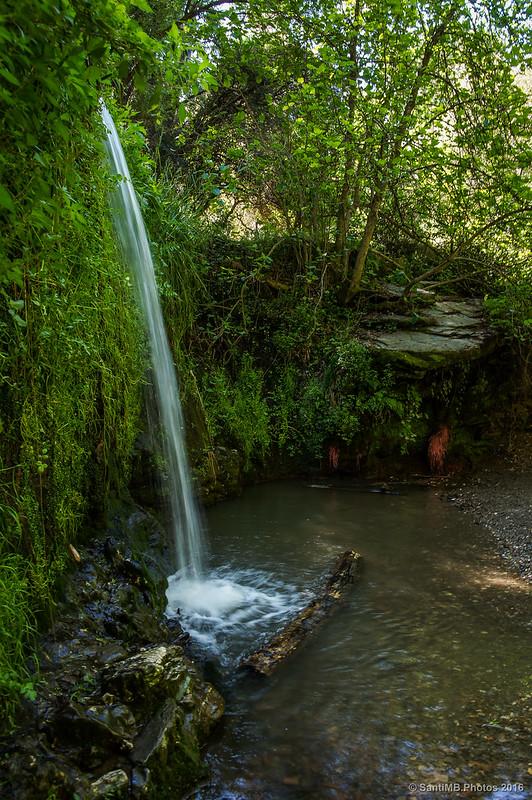 Perfil de la Cascada de La Rierada