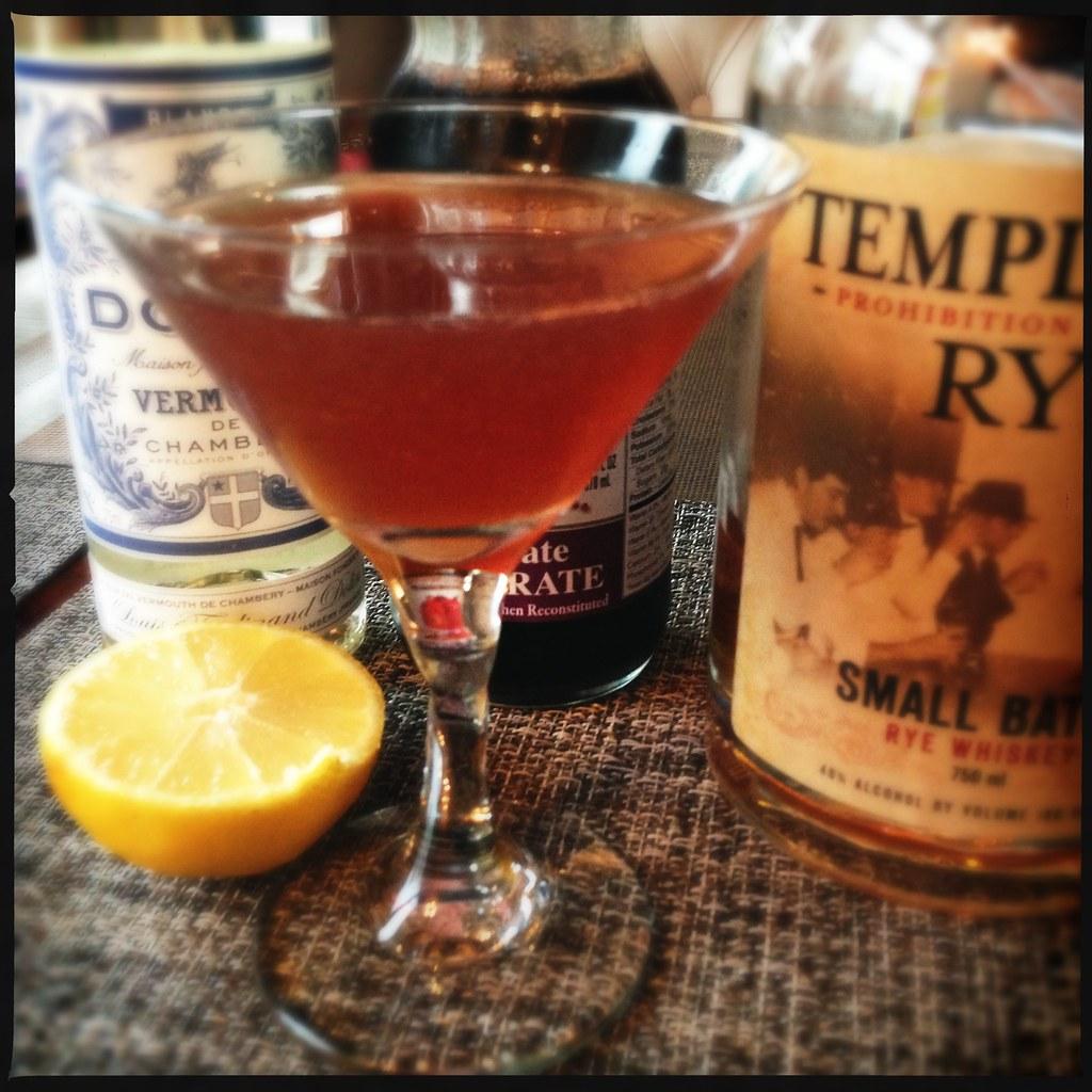 The Scofflaw | Rye, dry vermouth, lemon juice, and grenadine ...