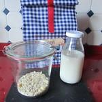 Mohn-Vanille-Porridge zum Mitnehmen