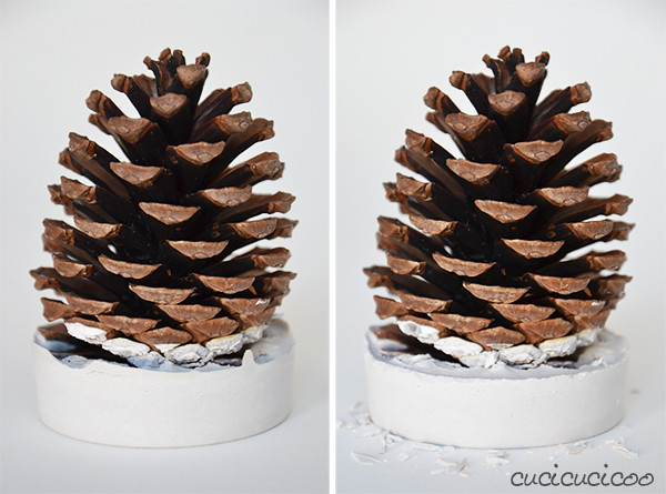 Make Christmas Trees Out Of Pine Cones A Full Tutorial