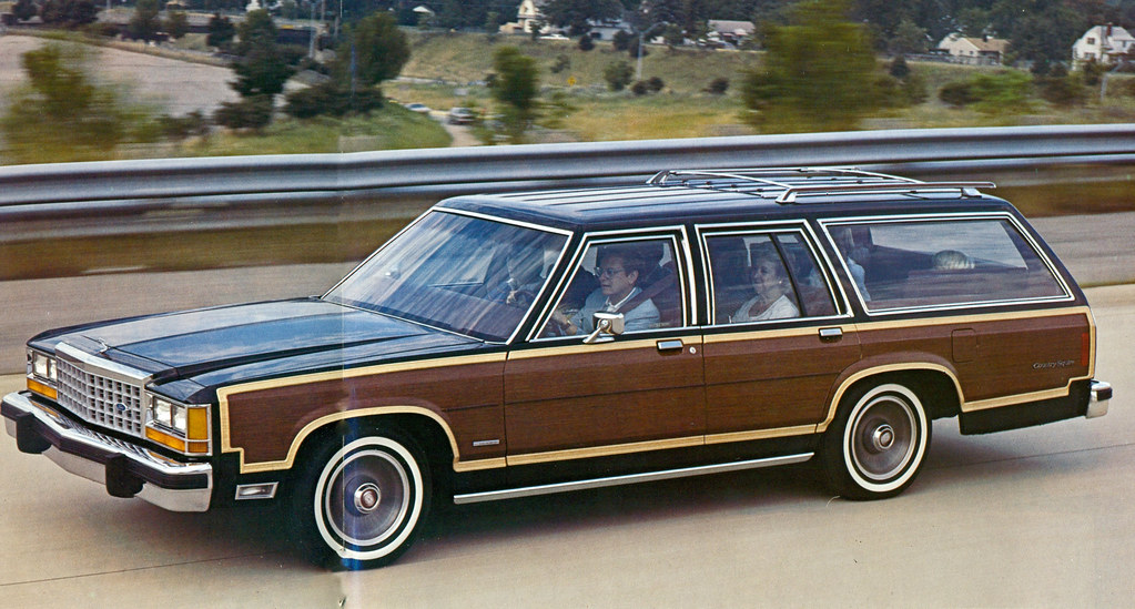 1976 Ford Granada For Sale Ford country squire station wagons