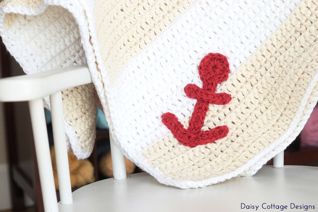 free crochet anchor pattern