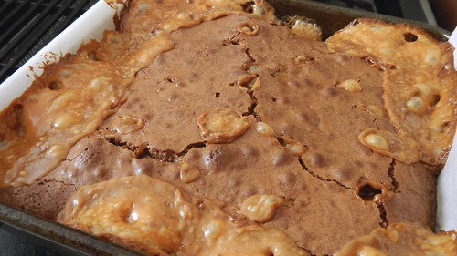 Chewy Caramel Brownies 22