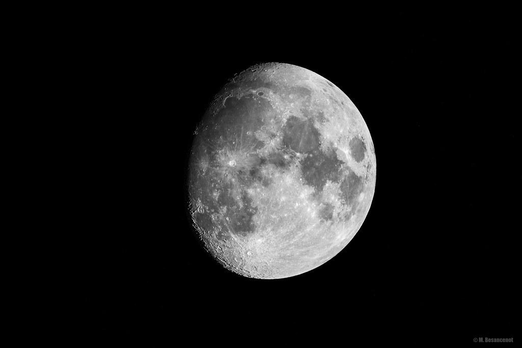 87% of moon