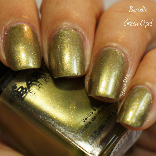 NailaDay: Barielle Green Opal