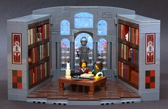 A Scene in a Library by Teabox (henrik_zwomp)