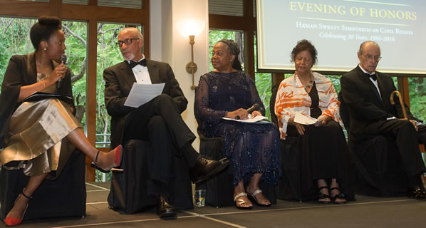 Evening of Honors panel