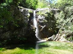 Confluence Frassiccia/Carciara : la cascade de la Frassiccia