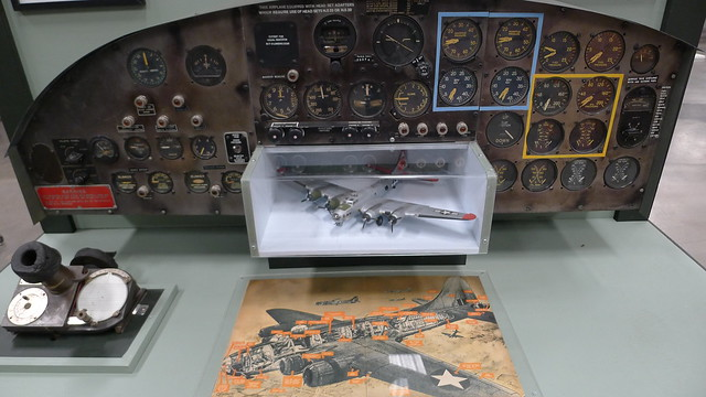 Flight instruments: Boeing B-17
