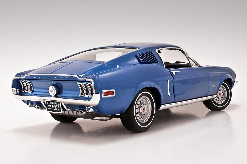 1968 Ford Mustang Gt 2 2 Fastback 1 18 Speedhunter Xxx