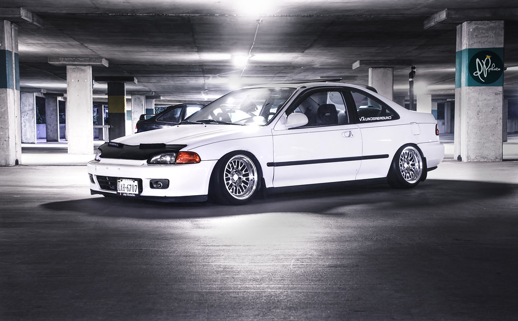 Junior Smith's EG Coupe | Junior's stanced Eg coupe on CCW ...