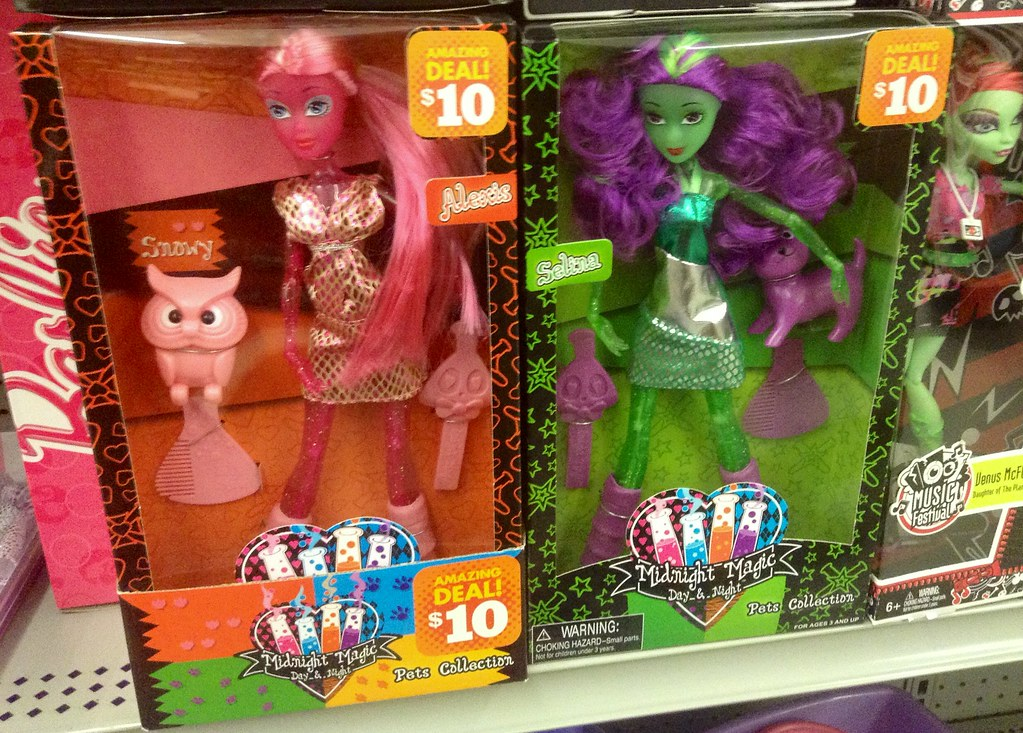 Monster High Knock Off Dolls At Family Dollar Store Pics