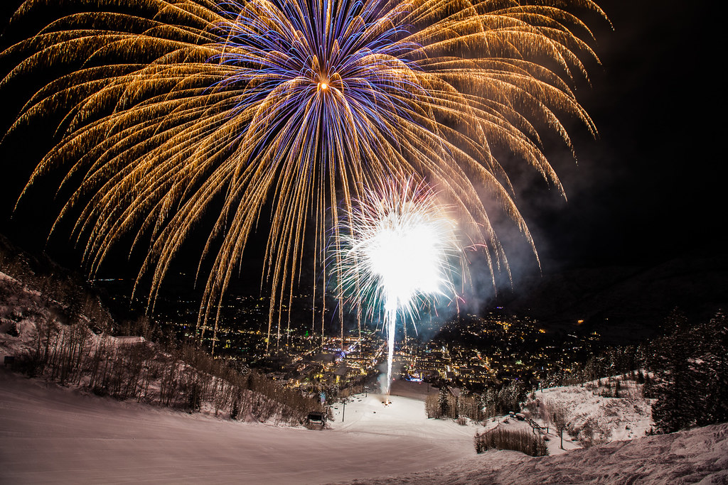 Aspen Mountain Fireworks | thomas o'brien | Flickr