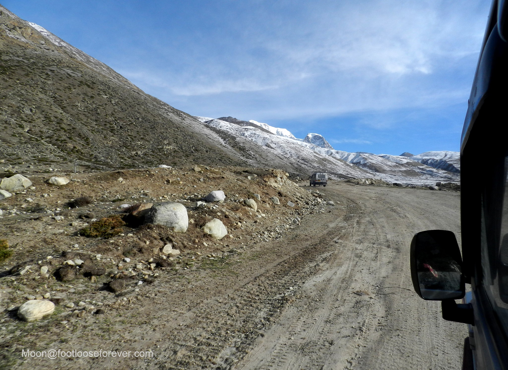 mountain roads, north sikkim