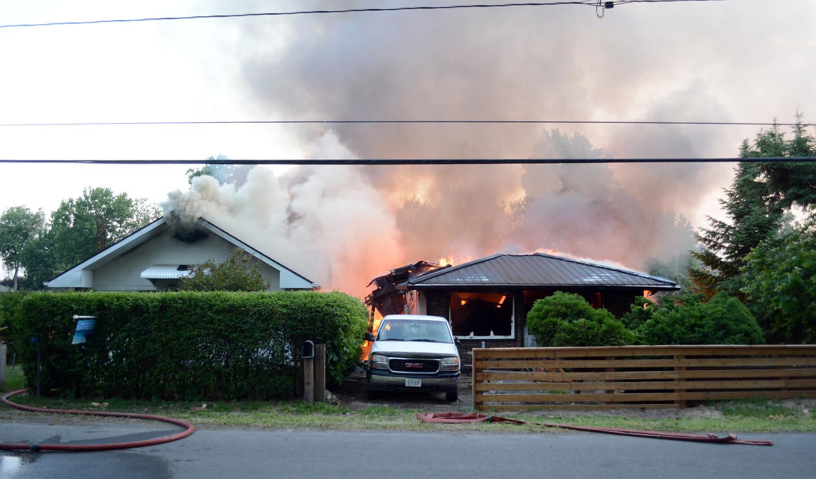 Lakeshore Rd. fire - Monday, June 20