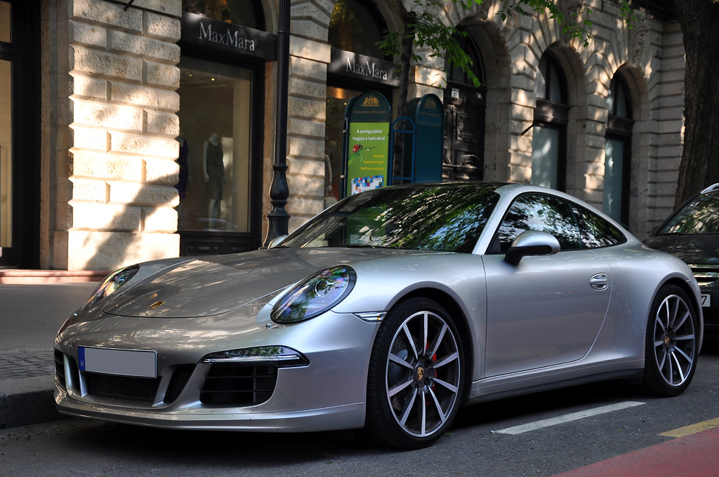 Porsche 911 991 Carrera 4s With Sport Design Front Apron Flickr