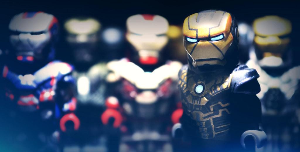 Lego Iron Man Mark 43 LEGO Iron Man 3 : Mark...