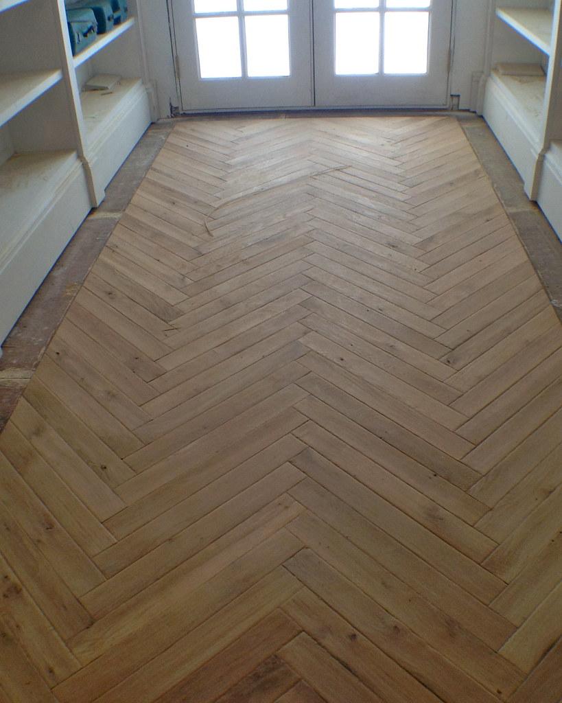 White Oak Floor Kitchen