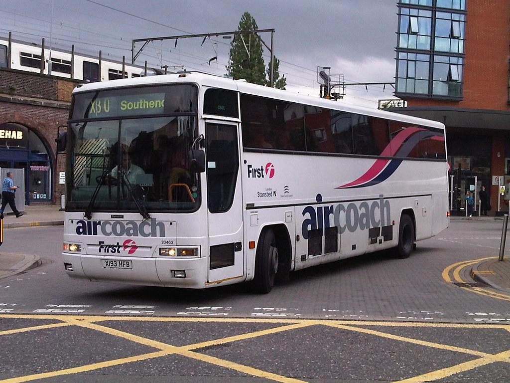 First Essex Chelmsford Volvo B10 20463 X193hfb On Route