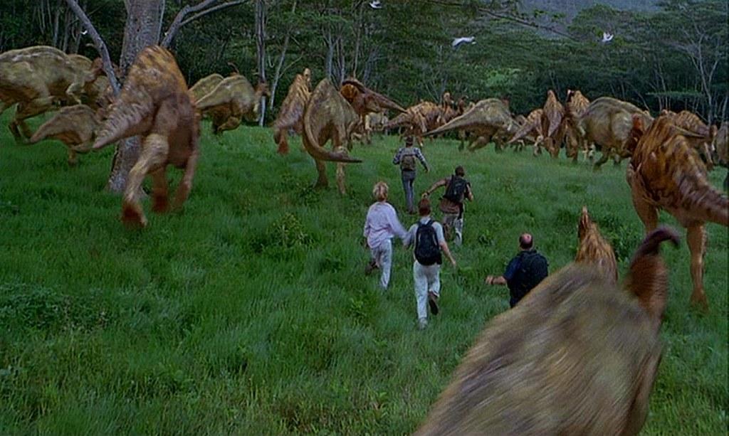 Dinosaur Herd | Jurassic Park III (2001) | Guardian Screen ...