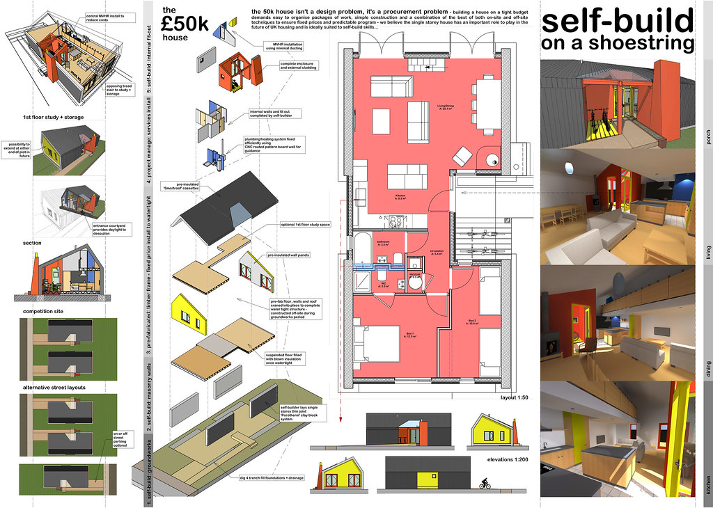 50k house self build on a shoestring competition for Build a house for under 50k