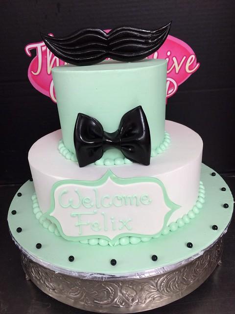 mustache baby shower cake flickr photo sharing