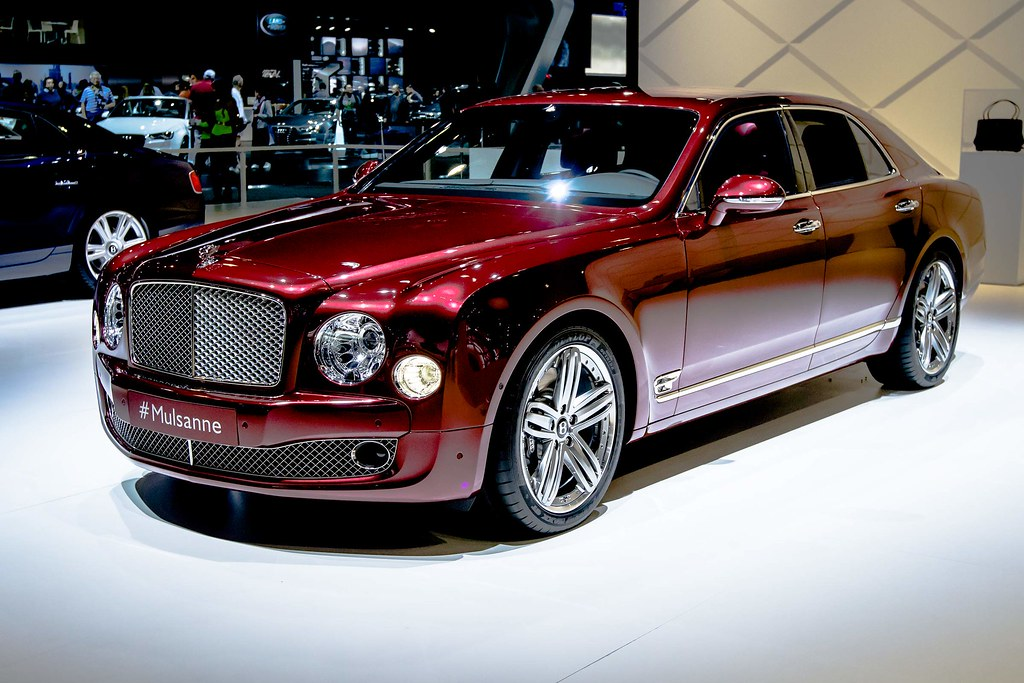 2014 Bentley Mulsanne La Auto Show 2014 Bentley Mulsanne