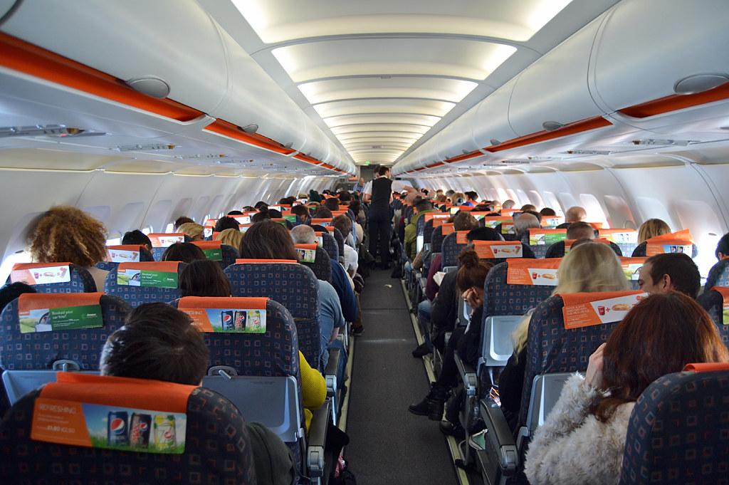 Easyjet interior