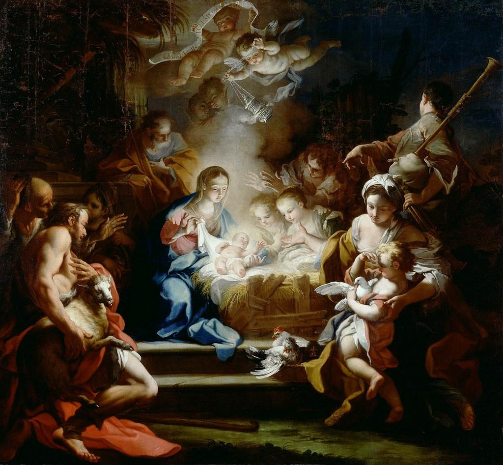 Sebastiano Conca Adoration Of The Shepherds 1720 Flickr