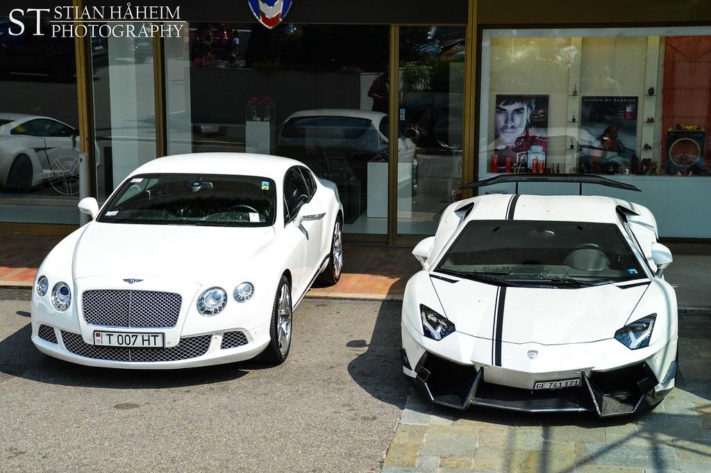 Bentley Continental Gt Amp Dmc Lamborghini Aventador Flickr
