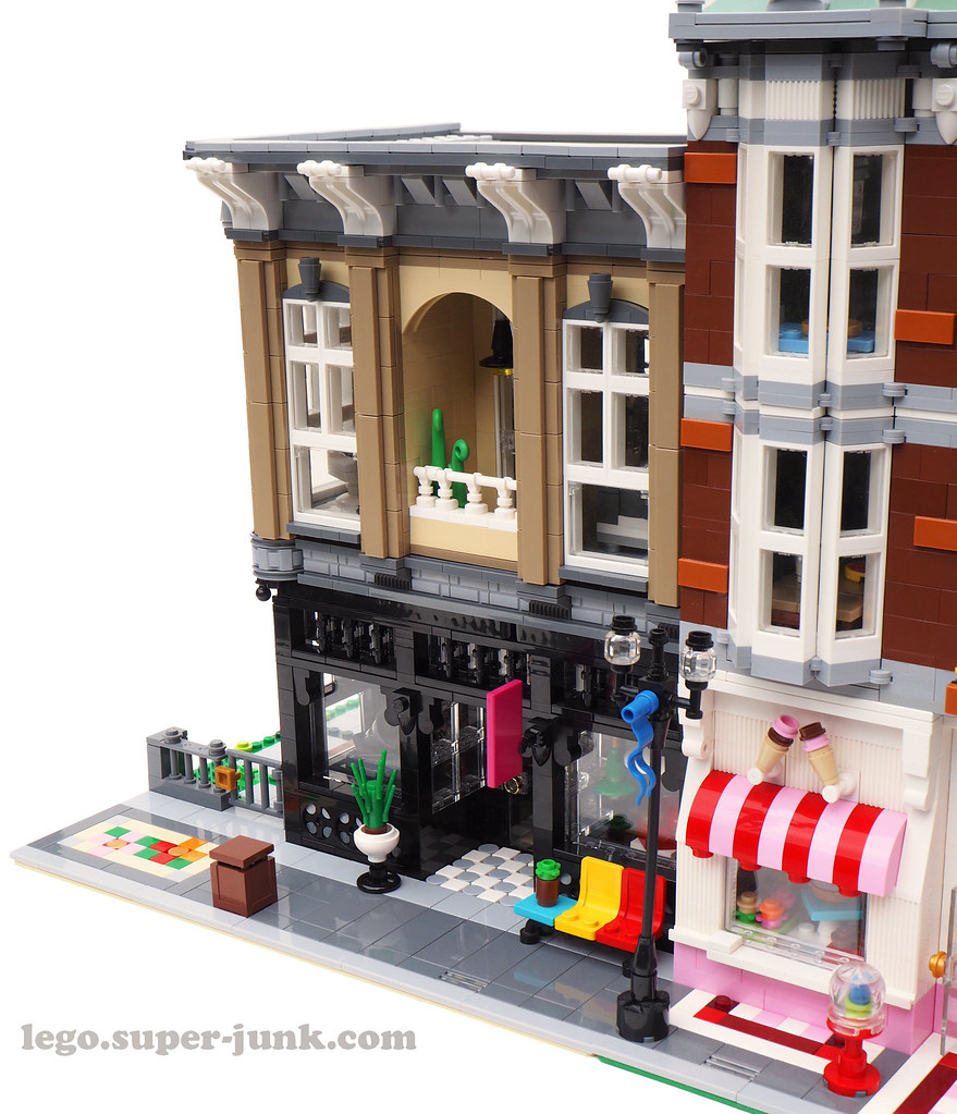 Antique Store Next To The Sweet Shop Lego Modular