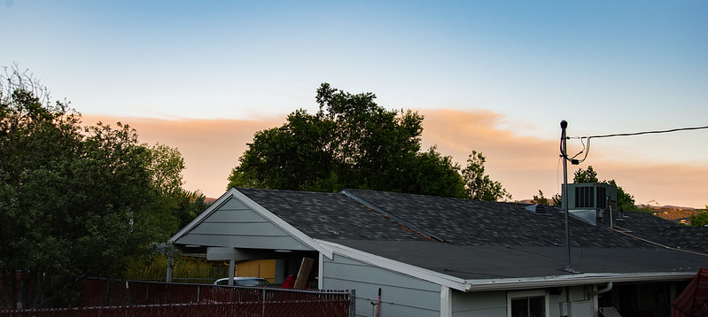 Evening Wildfire Smoke