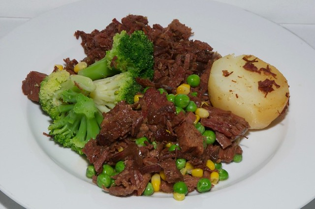 Homemade Corned Beef With Vegetables Recipe — Dishmaps