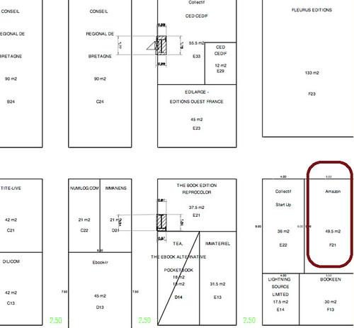 salon du livre de paris stand amazon flickr photo sharing. Black Bedroom Furniture Sets. Home Design Ideas