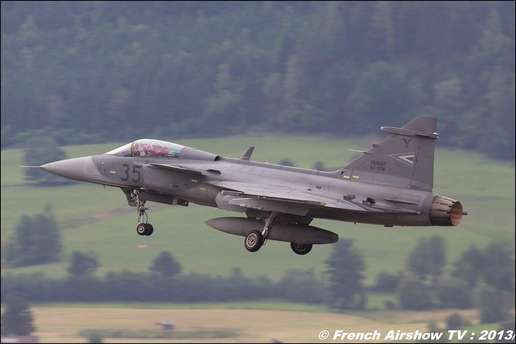 Jas-39 Gripen , Hongrie , Saab JAS 39 Gripen, AIRPOWER13 , Zeltweg , Austria , airpower 2013 Zeltweg