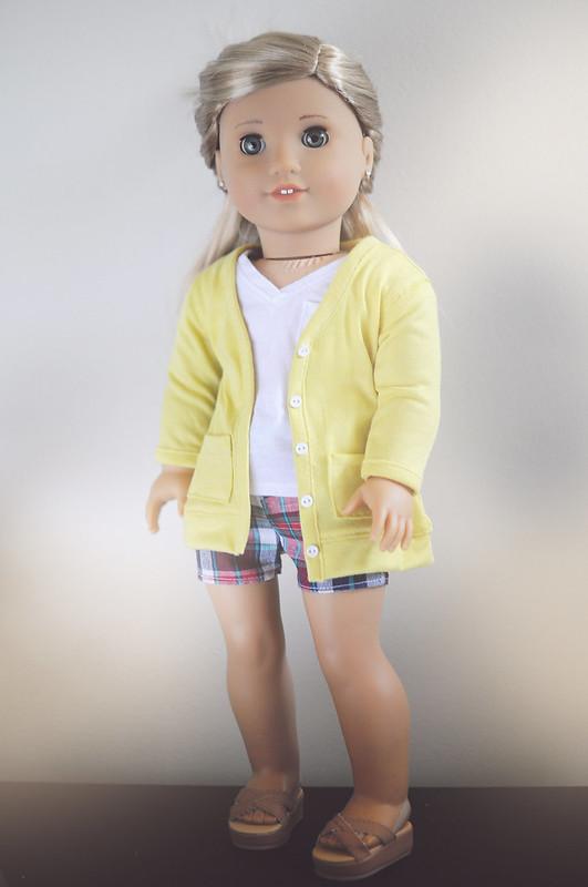 Shorts - Sunny Long Cardigan