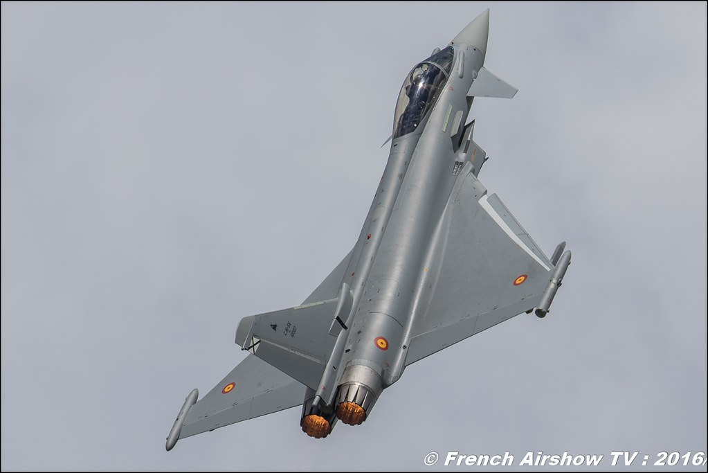 Eurofighter Typhoon Spain , EADS , display ,Meeting de l'air BA-702 Avord , Meeting Aerien Avord 2016 , FOSA , Armée de l'air , Canon Reflex , EOS System