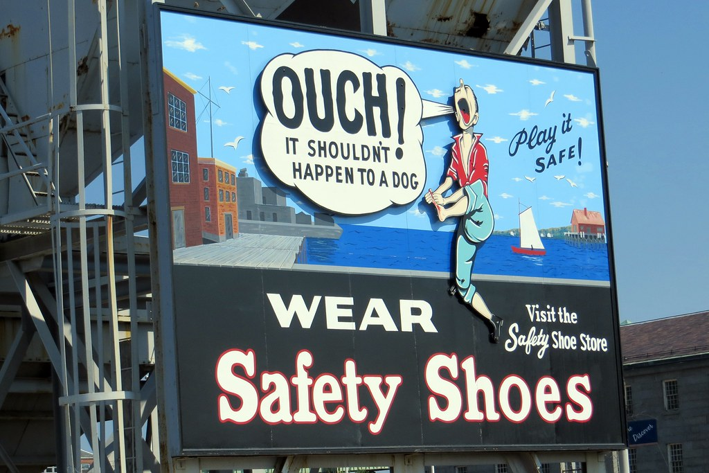 White Saftey Shoes