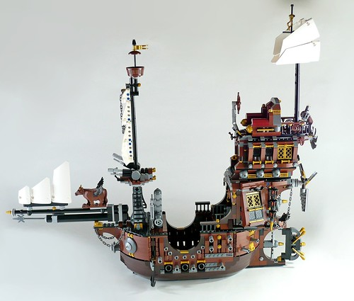 70810 MetalBeard's Sea Cow 509