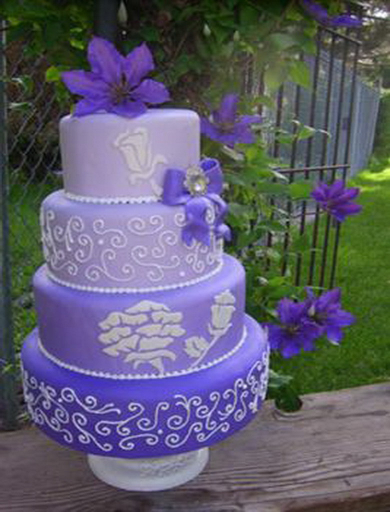 Cake Designs For Your Boss : Cake Boss Wedding Cake Ideas Purple Wallpaper Check this ...